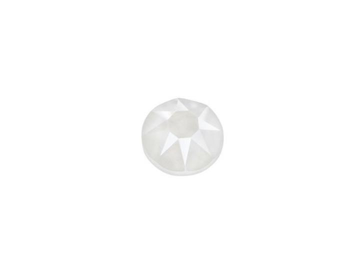 Swarovski 2078 SS20 XIRIUS Hotfix Flatback Crystal Electric White LacquerPRO