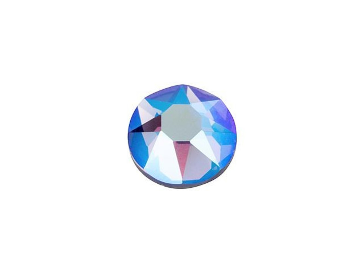 Swarovski 2078 SS20 XIRIUS Hotfix Flatback Tanzanite Shimmer