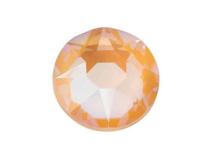 Swarovski 2078 SS34 XIRIUS Hotfix Flatback Crystal Peach DeLite LacquerPRO
