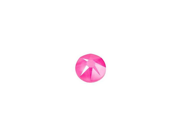 Swarovski 2088 SS16 XIRIUS Rose Flatback Crystal Electric Pink LacquerPRO