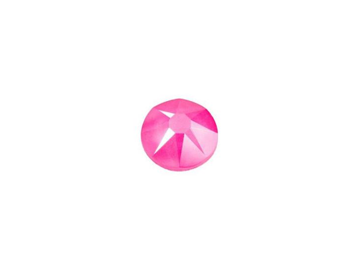 Swarovski 2088 SS20 XIRIUS Rose Flatback Crystal Electric Pink LacquerPRO