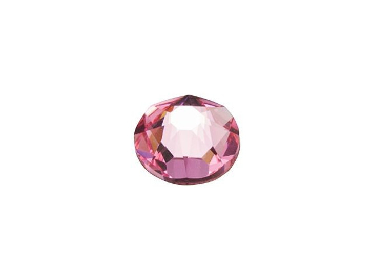 Swarovski 2088 SS20 Xirius Rose Flatback Light Rose