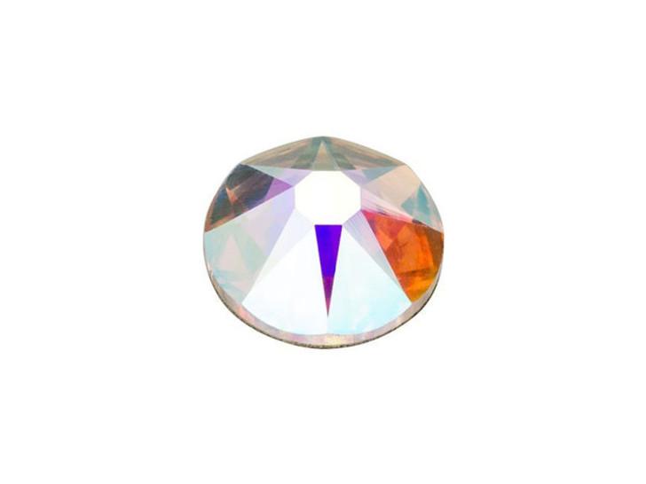Swarovski 2088 SS34 Xirius Rose Flatback Crystal AB
