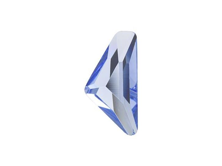 Swarovski 2738 10x5mm Triangle Alpha Flatback Light Sapphire