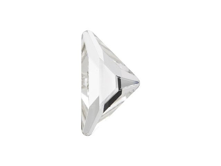 Swarovski 2740 10x10mm Triangle Gamma Flatback Crystal