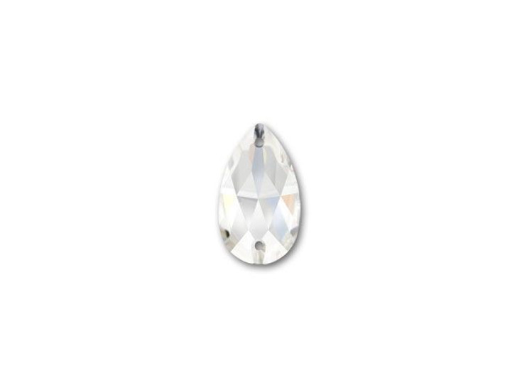 Swarovski 3230 12mm Teardrop Sew-on Rhinestone Crystal