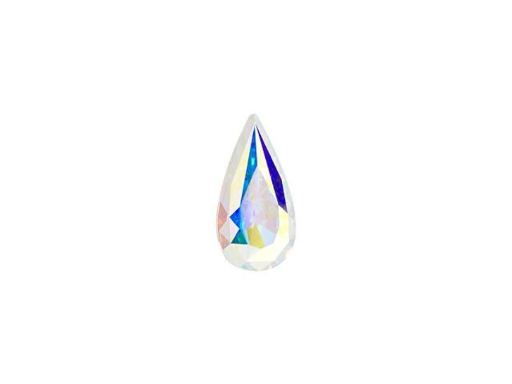 Swarovski 4322 10 x 5mm Teardrop Fancy Stone Crystal AB