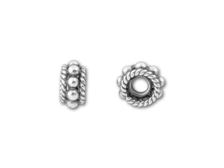 Bali Silver Spacer Bead
