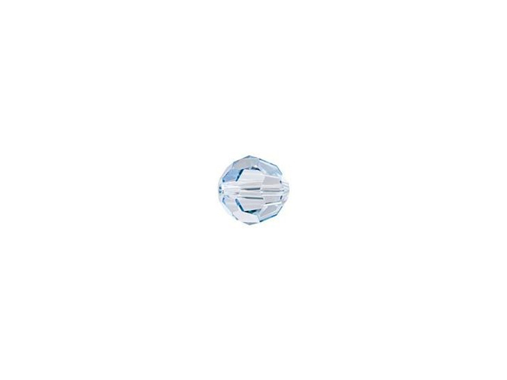 Swarovski 5000 3mm Faceted Round Crystal Blue Shade