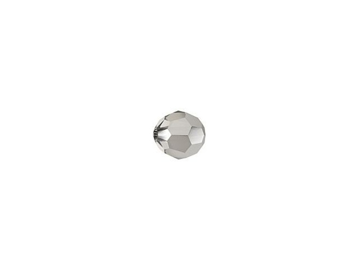 Swarovski 5000 3mm Faceted Round Crystal Light Chrome
