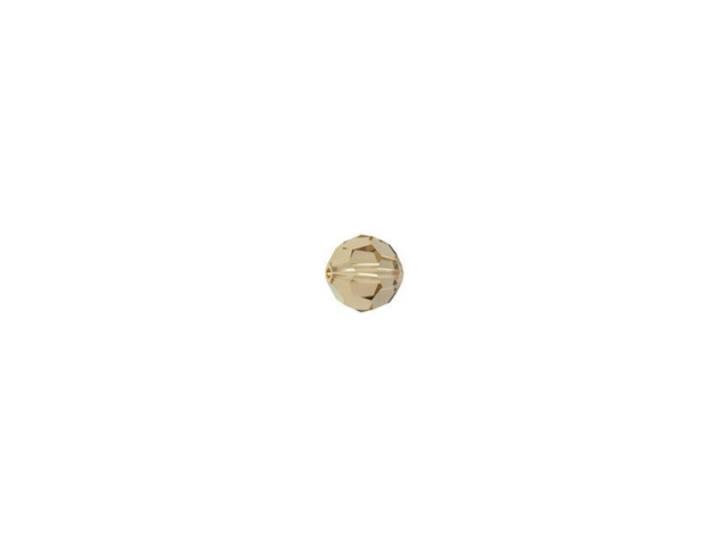 Swarovski 5000 3mm Faceted Round Light Colorado Topaz