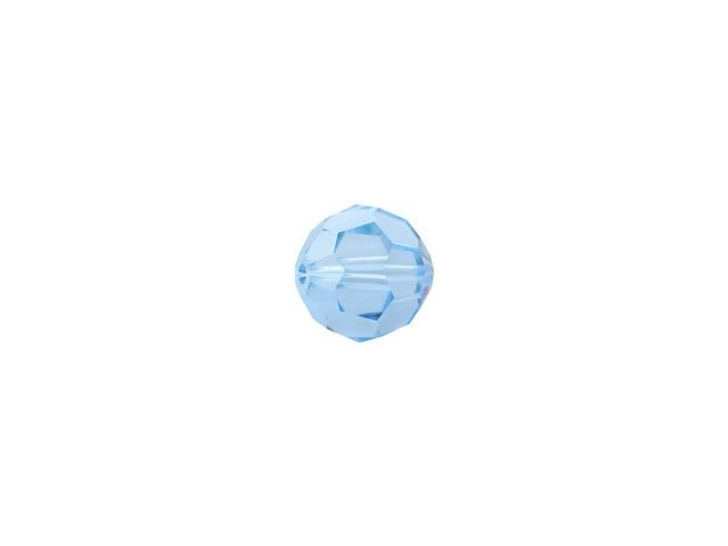 Swarovski 5000 4mm Faceted Round Aquamarine
