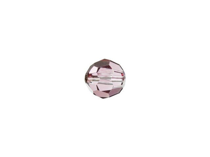 Swarovski 5000 4mm Faceted Round Crystal Antique Pink