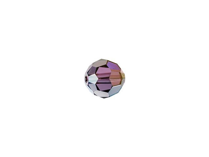 Swarovski 5000 4mm Faceted Round Crystal Lilac Shadow