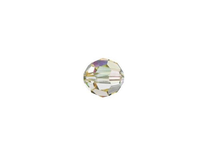 Swarovski 5000 4mm Faceted Round Crystal Luminous Green