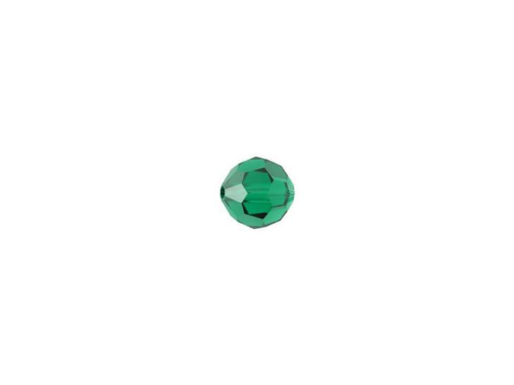 Swarovski 5000 4mm Faceted Round Emerald