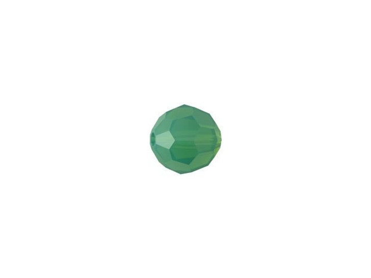 Swarovski 5000 4mm Faceted Round Palace Green Opal