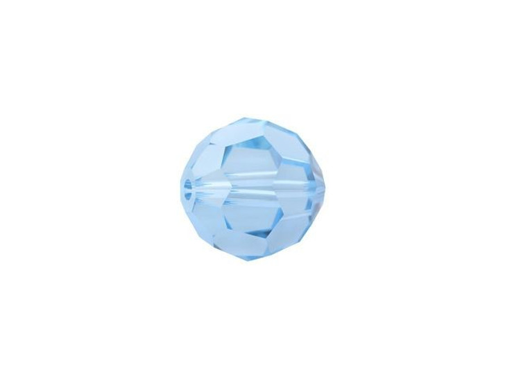 Swarovski 5000 6mm Faceted Round Aquamarine