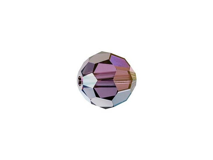 Swarovski 5000 6mm Faceted Round Crystal Lilac Shadow