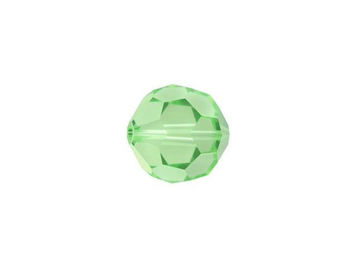 Swarovski 5000 6mm Faceted Round Peridot