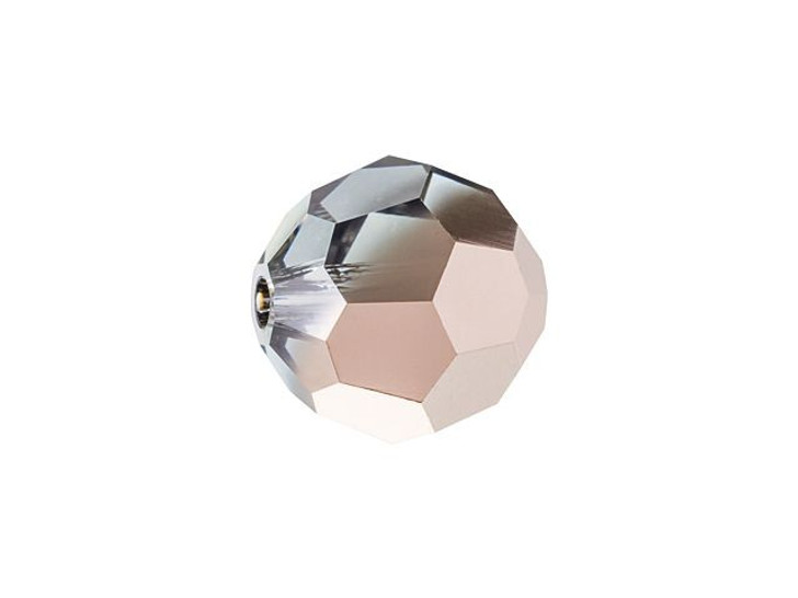 Swarovski 5000 8mm Faceted Round Bead Crystal Rose Gold