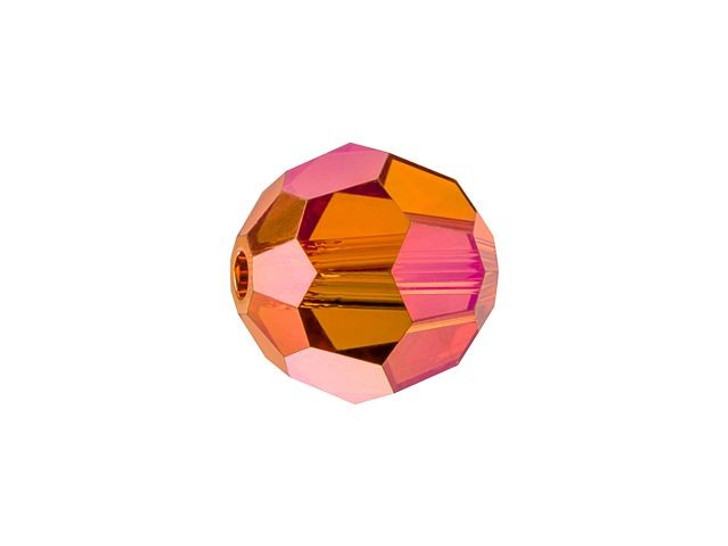 Swarovski 5000 8mm Faceted Round Crystal Astral Pink Full Coat