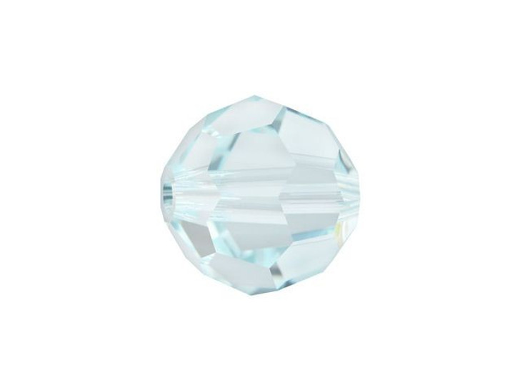 Swarovski 5000 8mm Faceted Round Light Azore