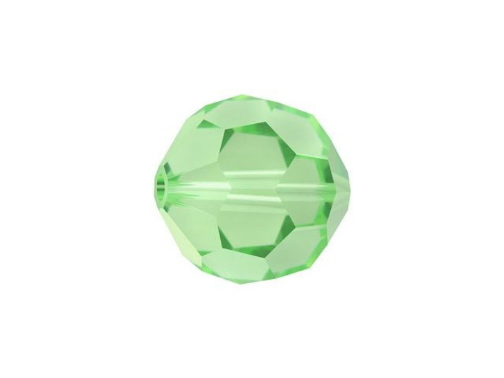 Swarovski 5000 8mm Faceted Round Peridot