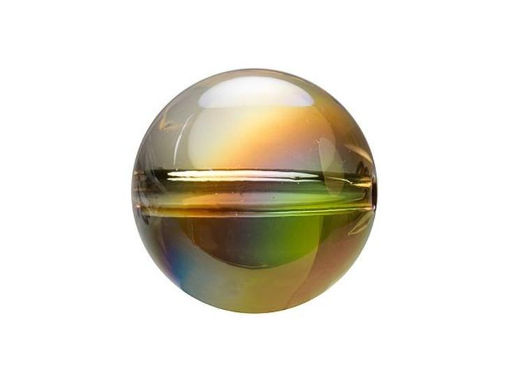 Swarovski 5028 Globe Bead 8mm Crystal Metallic Sunshine