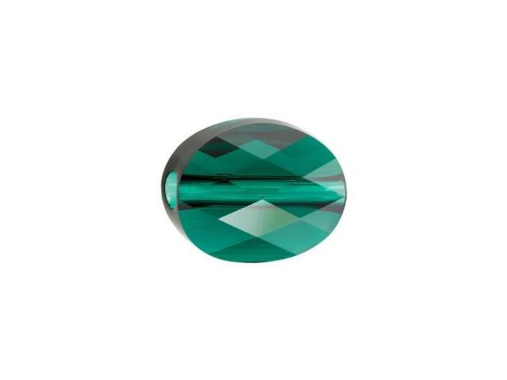 Swarovski 5051 8x6mm Mini Oval Bead Emerald