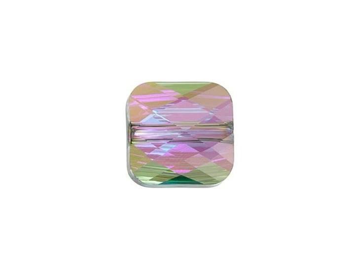 Swarovski 5053 6mm Mini Square Bead Crystal Paradise Shine