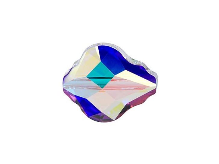 Swarovski 5058 10mm Baroque Bead Crystal AB