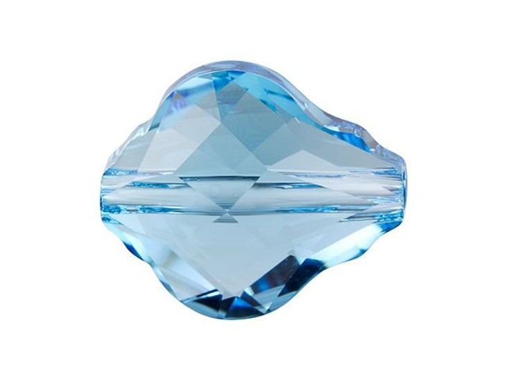 Swarovski 5058 14mm Baroque Bead Aquamarine