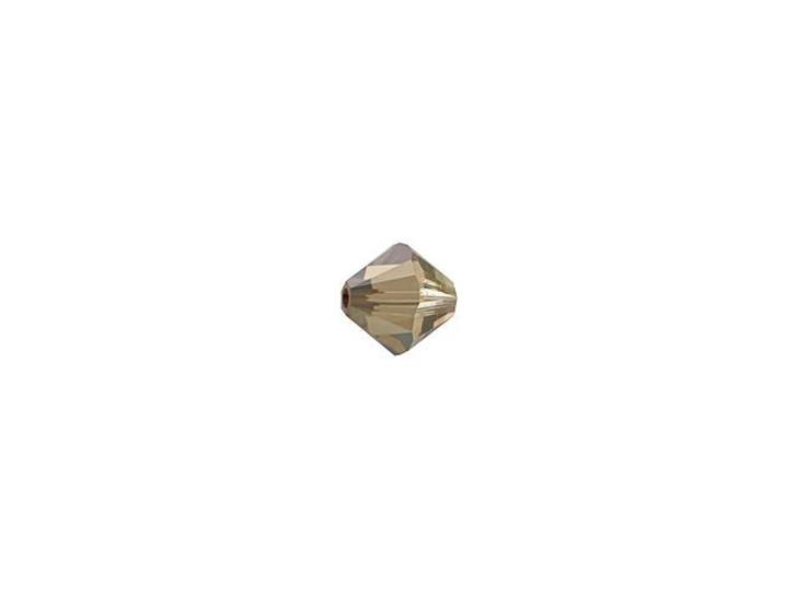 Swarovski 5328 3mm XILION Bicone Crystal Bronze Shade