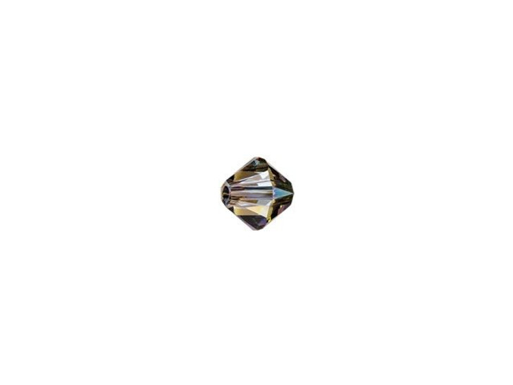Swarovski 5328 3mm XILION Bicone Crystal Iridescent Green