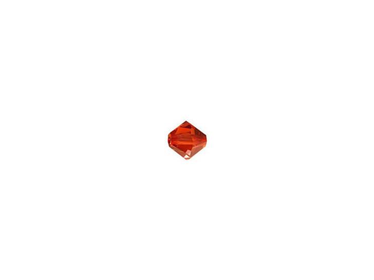 Swarovski 5328 3mm XILION Bicone Crystal Red Magma