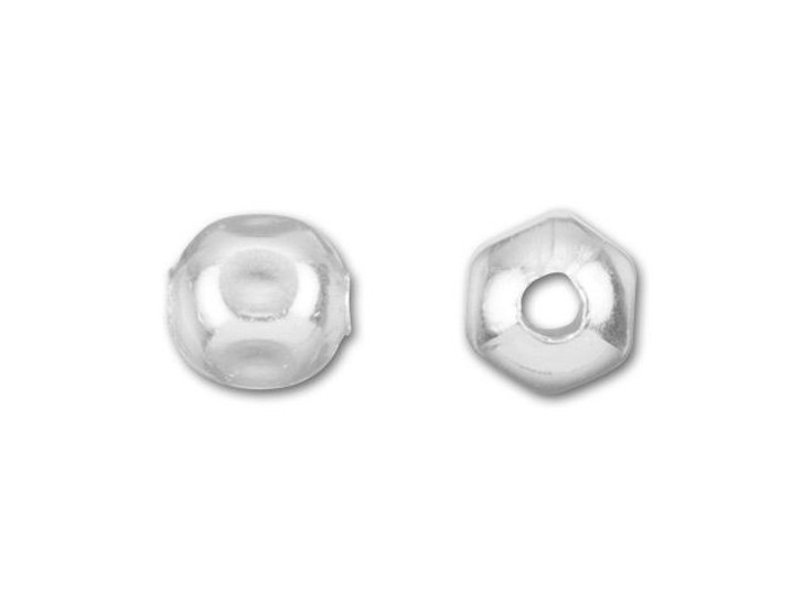 3mm Faceted Spacer Bead (Sterling Silver)