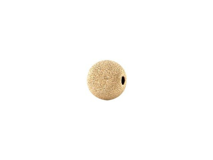 3mm Gold-Filled Round Stardust Bead