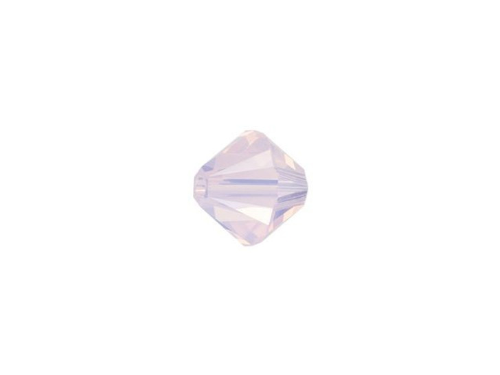 Swarovski 5328 4mm XILION Bicone Rose Water Opal