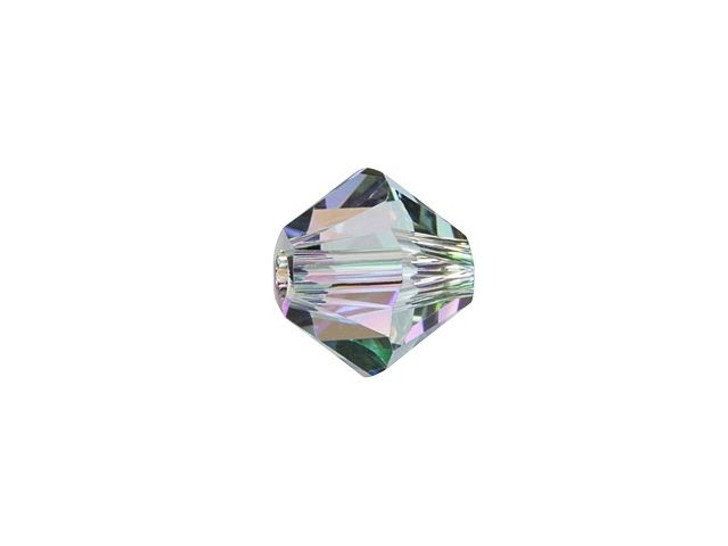 Swarovski 5328 6mm XILION Bicone Crystal Paradise Shine