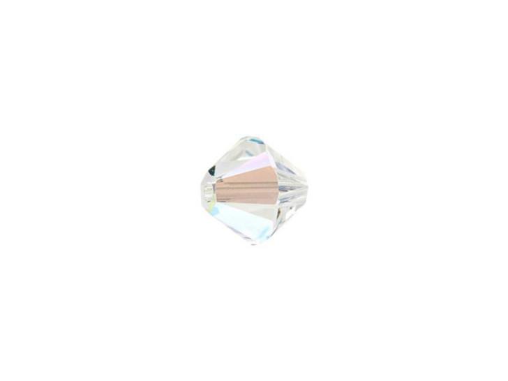 Swarovski 5328 6mm XILION Bicone Crystal Shimmer