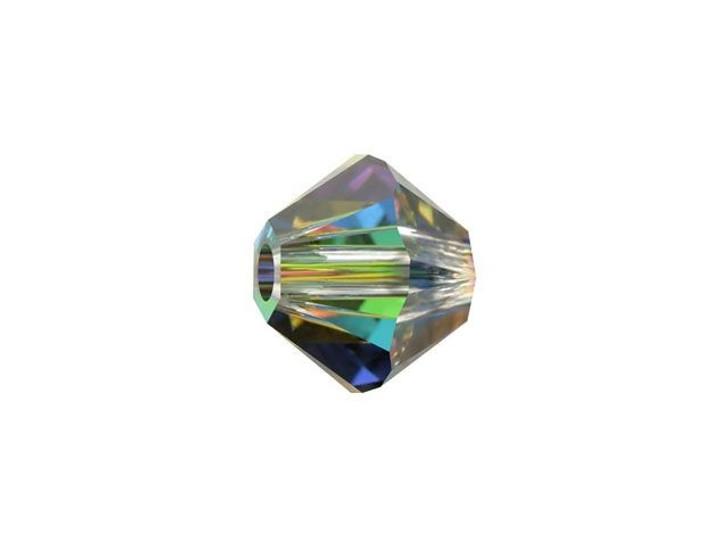 Swarovski 5328 6mm XILION Bicone Crystal Vitrail Medium