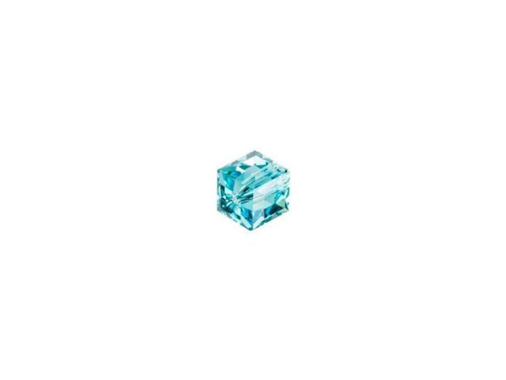 Swarovski 5601 4mm Cube Light Turquoise