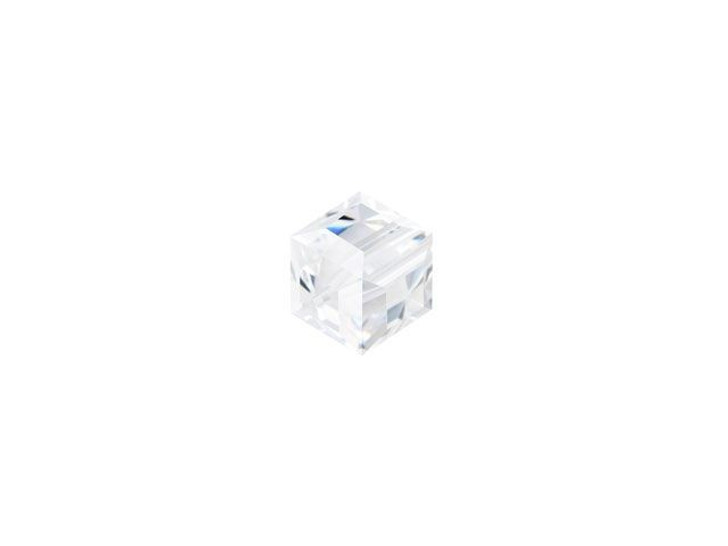 Swarovski 5601 4mm Faceted Cube Crystal