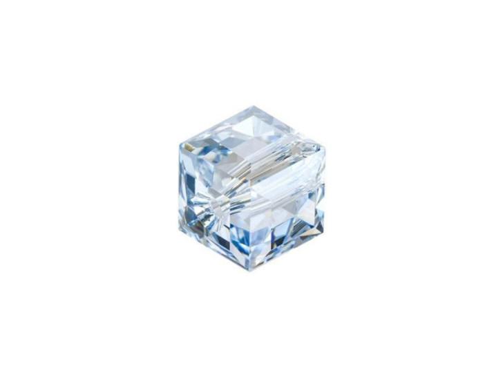Swarovski 5601 8mm Cube Crystal Blue Shade