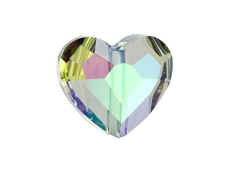 Swarovski 5741 Love Bead 12mm Crystal Paradise Shine