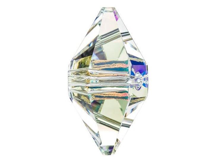 Swarovski 5747 16x8mm Double Spike Bead Crystal AB