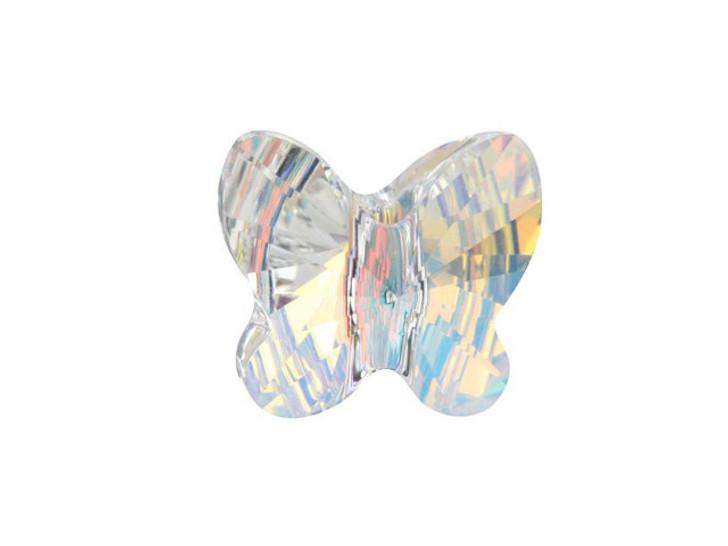 Swarovski 5754 10mm Butterfly Crystal AB