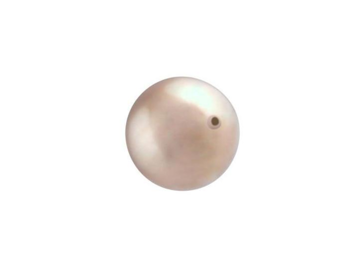 Swarovski 5810 10mm Round Crystal Pearl Powder Almond