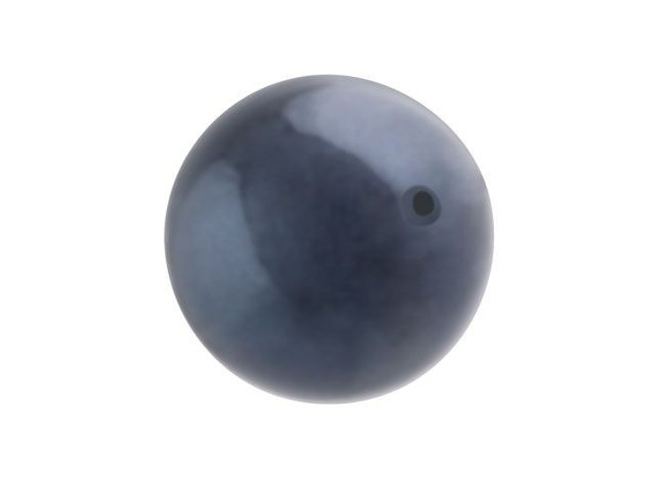 Swarovski 5810 12mm Round Crystal Pearl Night Blue